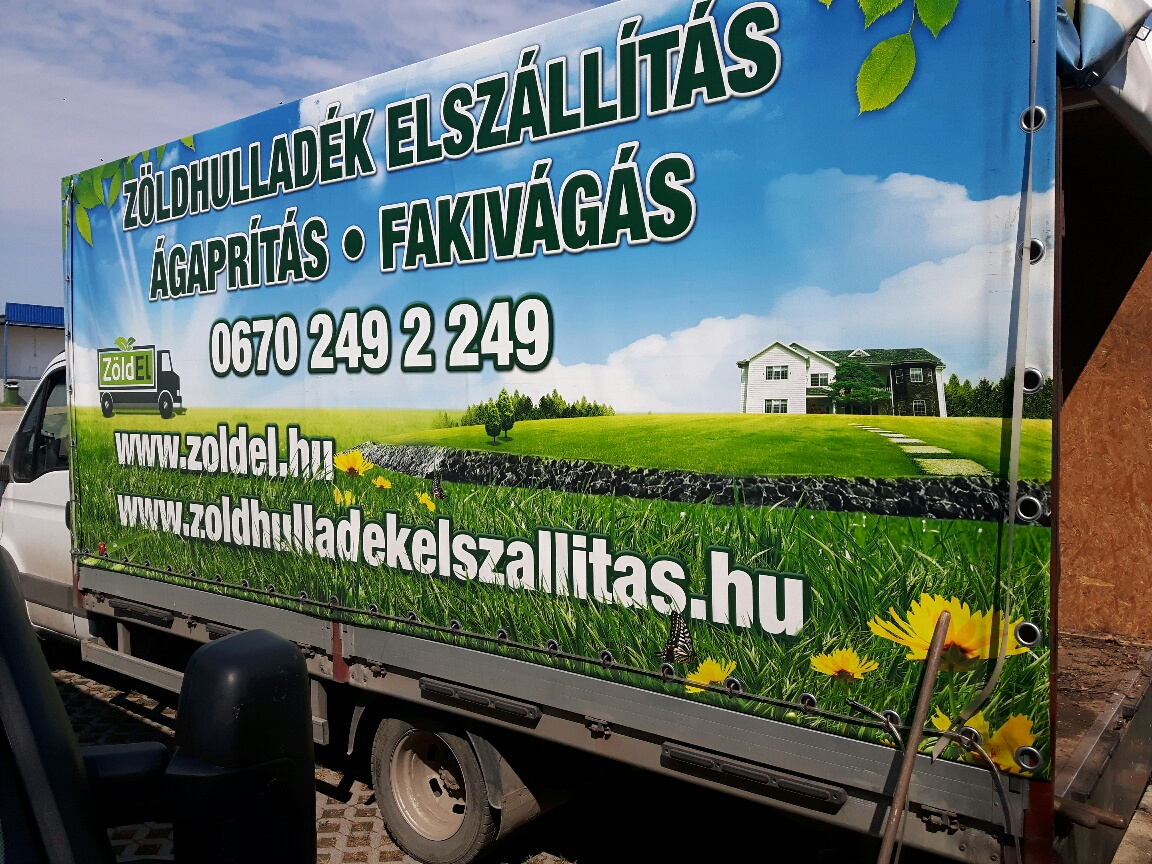 Környezet védelme - Zöldel zöldhulladék elszállítás